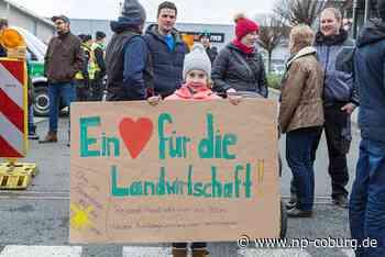*** Protest: Landwirte fordern Wertschätzung