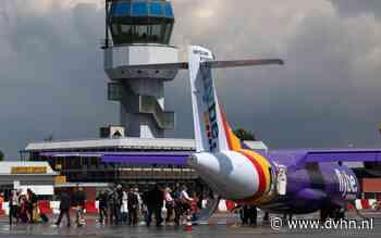Tegenvaller vliegveld Eelde dreigt, Flybe zou op omvallen staan
