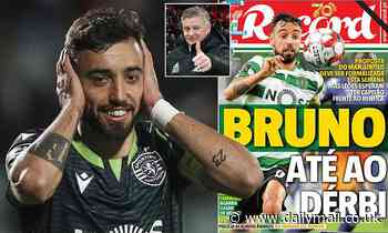 Bruno Fernandes' £60m move to Manchester United is 'imminent'