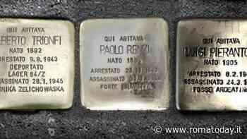 Dal quartiere Italia al Flaminio: sei pietre d'inciampo ricordano i deportati ad Auschwitz