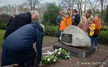 Monument voor verzetsman Jans Zwinderman onthuld