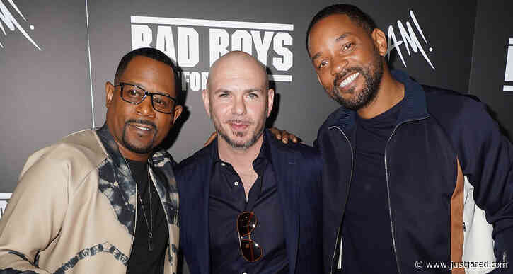 Will Smith & Martin Lawrence Get Special Honor During 'Bad Boys For Life' Press Day in Miami!