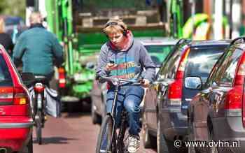 Fietsers in Hoogeveen steeds vaker bij ongeluk betrokken