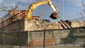 """Le ruspe demoliscono la Tangenziale davanti alle case, Raggi: """"Nuova vista per Tiburtina"""""""