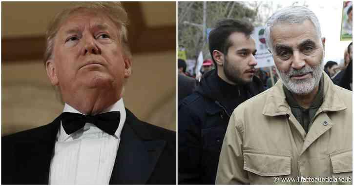 """Usa-Iran, il Pentagono smentisce Trump: """"Nessun attacco imminente da Soleimani"""". Così cadono le motivazioni del raid americano"""