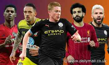 Sportsmail's Power Rankings: Who makes the top 10 and who has claimed top spot?