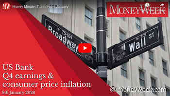 Money Minute Tuesday 14 January: US bank results and inflation