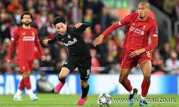 Liverpool 'handed boost as Fabinho prepares to return to full training for Man Utd clash'