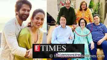 Raj Kapoor's daughter Ritu Kapoor Nanda passes away; Mira Rajput shares glimpses of her Lohri celebrations, and more…