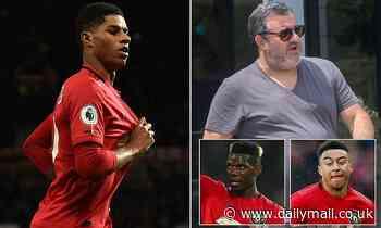 Super-agent Mino Raiola 'held talks over representing Manchester United striker Marcus Rashford'