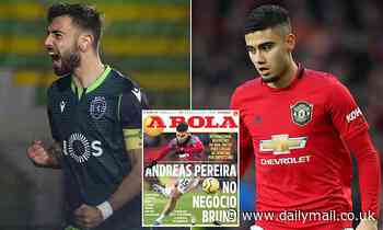 Andreas Pereira 'could become part of Bruno Fernandes to Manchester United deal'