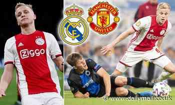 Ajax star Donny van de Beek 'open to Premier League move this summer'