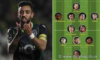 How Manchester United could line up with midfielder Bruno Fernandes