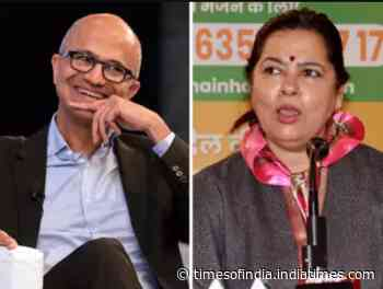 Literate needs to be educated: BJP MP to Nadella