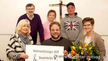 Spendenerfolg beim weihnachtlichen Singen in Lebenstedt