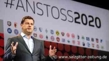 Neujahrempfang: DFL-Boss: Fußball muss sich neu aufstellen
