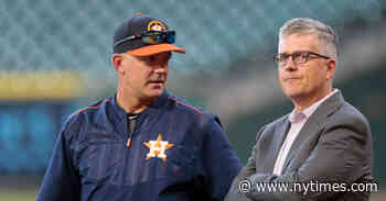 The Houston Astros' Cheating Scandal: Sign-Stealing, Firings and Other Questions