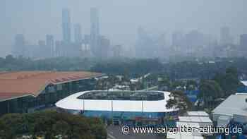 Tennis: Aufgabe, Absagen: Australian Open von Buschbränden betroffen