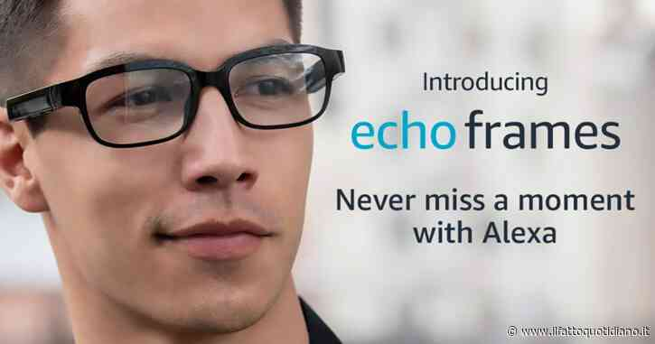 Amazon Echo Frames, in arrivo gli occhiali smart con assistente vocale Alexa integrato