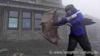 Sturm auf dem Brocken – Wolfsburger sucht den Orkan
