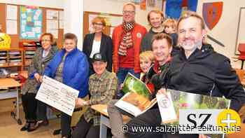 """Band """"nullbock"""" spendet für Bilderbuch-Projekt in Lichtenberg"""