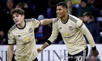 Marcus Rashford heaps praise on 'brilliant' Dan James and backs him to get even better at Man United
