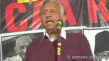 Congress leader Mani Shankar Aiyar joins anti-CAA protesters at Shaheen Bagh, sparks row with `killers` remark