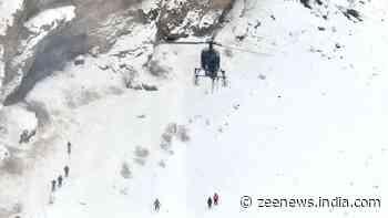 Heavy snowfall hits Kashmir and Ladakh, Army put on high alert, five jawans dead