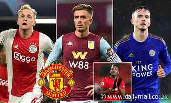 Manchester United 'target summer moves for James Maddison, Donny van de Beek and Jack Grealish'