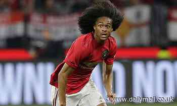 Inter Milan hold meeting with agent of Manchester United youngster Tahith Chong