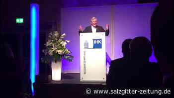 Bernd Althusmann beim IHK Empfang in Ilsede