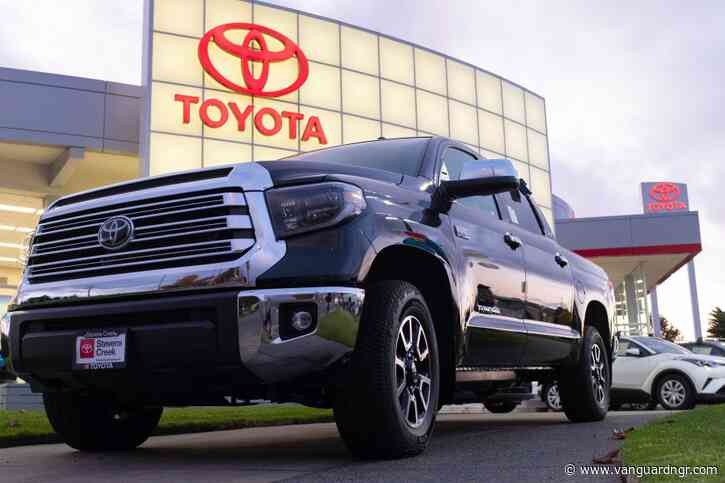 Toyota recalls nearly 700,000 vehicles over faulty fuel pump