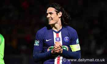 Atletico Madrid chief 'flies to Paris to negotiate transfer ofParis Saint-Germain striker Cavani'