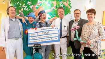 2000 Euro aus Beienrode für die Clinic-Clowns Hannover