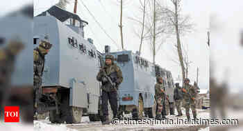 Top Hizbul terrorist killed in encounter with security forces in J&K