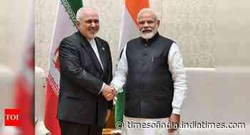 Iran foreign minister Javad Zarif meets PM Modi in New Delhi
