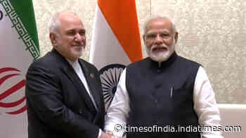 PM Modi meets Iranian Foreign Minister in Delhi