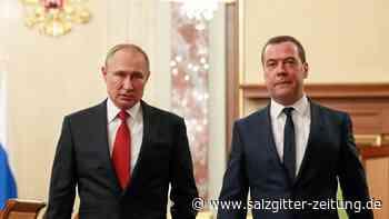 Russland: Russische Regierung will komplett zurücktreten