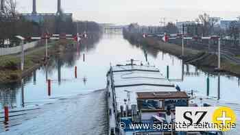 Wolfsburg – Güterschiffe krachen auf dem Kanal aufeinander