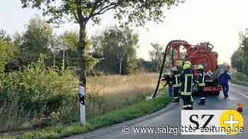 Erneuter Ölunfall in der Nähe von Hankensbüttel