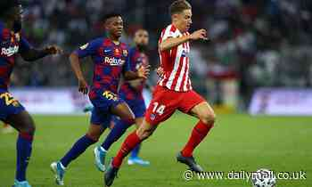 Manchester United 'want Atletico Madrid star Marcos Llorente on loan'