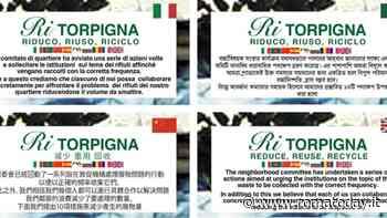 Tor Pignattara, un decalogo per ridurre i rifiuti: il volantino parla otto lingue
