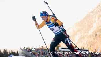 Weltcup Biathlon: Kein Podest: Hinz als Achte beste Deutsche im Sprint