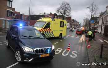 Voetganger aangereden op zebrapad Hereweg