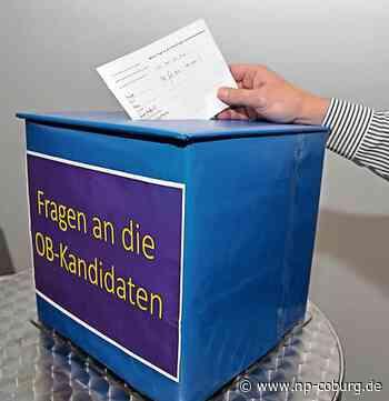 Kommunalwahl: Fragen an die OB-Kandidaten