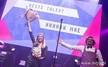 Talentprijswinnaar Hannah Mae uit Emmen: 'Ik sta met veel plezier voor de klas, maar muziek staat bij mij op 1' #esns