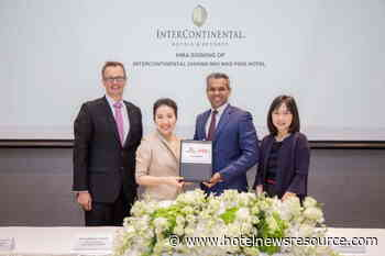 IHG Announces Agreement of More Than 1,200 Rooms in Thailand