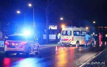 Traumahelikopter naar Grootegast: auto schept voetganger op N980
