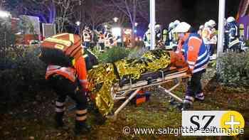 Feuerwehr übt in Leiferde für den Ernstfall