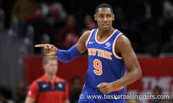 NBA Daily: RJ Barrett Calming Down, Playing With Poise